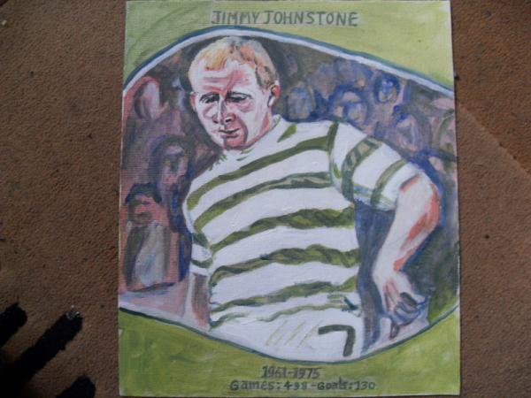 Jimmy Johnstone by sashymashy